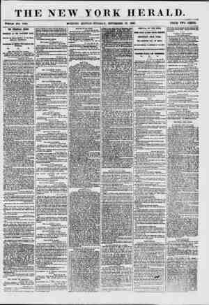 """THE NEW YORK HERALD. """"THOU* NO. 7*98. MORNING EDITION-TUESDAY, SEPTEMBER 29. 1867. PRICE TWO CENTS. THE FMAICUl CRISIS...."""
