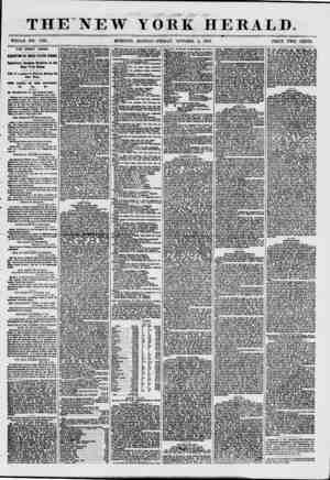 """"""" 1 * """" ? ' m*? - *f ? ?. . v THENEW YORK HERALD. WHOLE NO. 770L MORNING EDITION-FRIDAY, OCTOBER 2, 1857. PRICE TWO CENTS."""