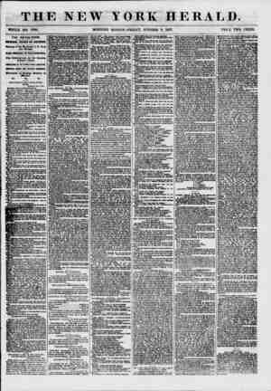 THE NEW YORK HERALD. WHOLE NO. 7708. MORNING EDITION-FRIDAY, OCTOBER 9, 1857. PRICE TWO CENTS. THE REVULSION. roiiraorarw?58