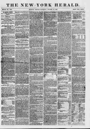 THE NEWYORK HERALD. WHOLE NO. 7709. MORNING EDITION-SATURDAY, OCTOBER 10, 1857. PRICE TWO CENTS. THE FMAICIAL PRESSURE. State
