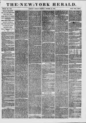THE'NEWiYORE HERALD. WHOLE NO. 7712. MORNING EDITION?TUESDAY, OCTOBER 13, 1857. PRICE TWO CENTS. ARRIVAL OF THE ATLANTIC*...