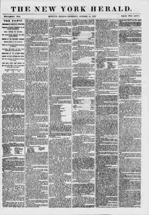 THE NEW YORK HERALD. WHOLEi'NO. 7714. MORNING EDITION-THURSDAY, OCTOBER 15, 1857. PRICE TWO CENTS. THE PANIC. SUSPENSION OF