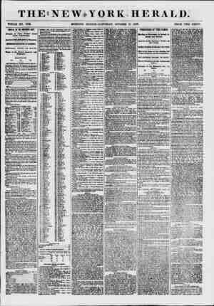 THE!NEW?YORK HERALD. WHOLE NO. 7716. MORNING EDITION-SATURDAY, OCTOBER 17, 1867. PRICE TWO CENTS. ARRIVAL OF THE NORTHERN...
