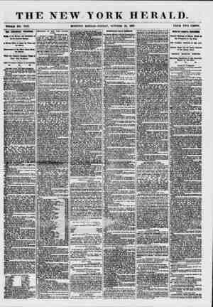 THE NEW.YORK HERALD. WHOLE NO. 7722. MORNING EDITION?FRIDAY, OCTOBER 23, 1887. PRICE TWO CENTS. THE FINANCIAL FHES8UHK. of