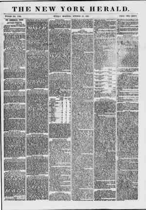 THE NEW YORK HERALD. WHOLE NO. 7724. SUNDAY MORNING, OCTOBER 25, 1857. BRICK TWO CENTS. THE COMMERCIAL CRISIS. TELEGRAPHIC