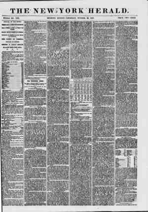 THE NEWiYORK HERALD. WHOLE NO. 7728. MORNING EDITION-THURSDAY, OCTOBER 29, 1857. PRICE TWO CENTS. ARRIVAL OF THE PERSIA....