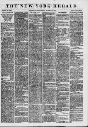 THE NEW.TORK HERALD. WHOLE NO. 7729. MORNING EDITION-FRIDAY, OCTOBER 30, 1857. PRICE TWO CENTS. DEMOCRATIC RATIFICATION...