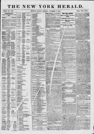 THE NEW YORK HERALD. WHOLE NO. 7733. MORNING EDITION-TUESDAY, NOVEMBER 3, 1857. PRICE TWO CENTS. THE ELECTION TO-DAY....
