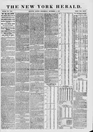 THE NEW YORK HERALD. WHOLE NO. 7734. MORNING EDITION-WEDNESDAY, NOVEMBER 4, 1857. PRICE TWO CENTS. IEW YORK STATE ELECTI09.