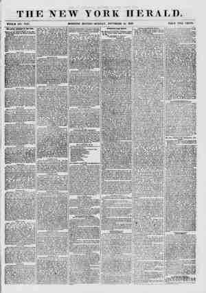 THE NEW WHOLB NO. 7746. MORNING YORK HERALD. EDITION? MONDAY, NOVEMBER 16, 1857. PRICE TWO CENTS. ?U ACTUAL COKDITIOW OF THE