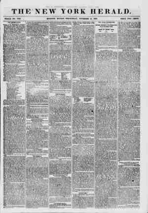 THE NEW IOBK HERALD. WHOLE NO. 7748. . MORNING EDITION- WEDNESDAY, NOVEMBER 18, 1857. PRICE TWO CENTS. THE UNEMPLOYED....