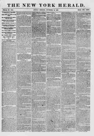 THE NEW YORK HERALD. WHOLE NO. 7752. SUNDAY MORNING, NOVEMBER 22, 1857. A FRIGHTFUL RECORD. Double Murder and Suicide to Long