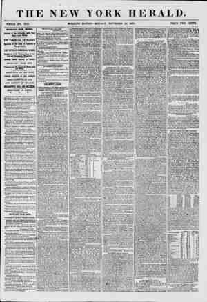 THE NEW YORK HERALD. *HOLE NO. 775a MORNING EDITION-MONDAY, NOVEMBER 23. 1867. PRICE TWO CENTS. IMPORTANT FROM EURORE....