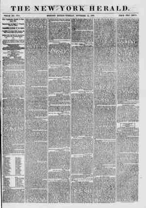 ? ?? ? . LiJj - () THE V I : W Y 0 1? K HERALD. WHOLE ?0. 7754. MORNING EDITION? TUESDAY, NOVEMBER 24, 1857. PRICE TWO CENTS.