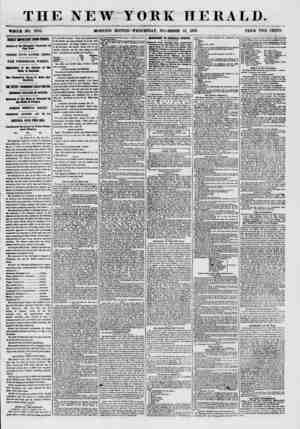 THE NEW YORK HERALD. ? m WHOLE NO. 7755. HORNING EDITION- WEDNESDAY, NOVEMBER 25, 1857. PRICE TWO CENTS. HIGHLY HPORTHT FROI