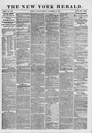 THE NEW YORK HERALD. ?n<f . i _ , WHOLE NO. 7760. MORNING EDITION-MONDAY, NOVEMBER 30, 1857. V*M'E TWO CENTS. ? d IEWS FROM