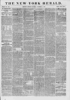 THE NEW YORK HERA T-D. WHOLE NO. 7765. MORNING EDITION-SATURDAY, DECEMBER o, 1857. PRICE TWO CENTS. THE EUROPEAN MAILS. The