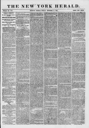 THE NEW YORK HERALD. WHOLE NO. 777L AFFAIRS IN WASHINGTON. The Debate on the Kansas Question in the Senate. IMPORTANT TEST