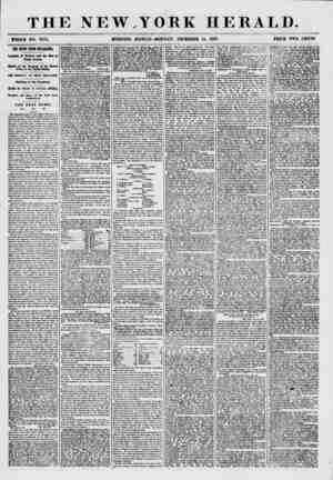 THE NEW.T ORK HERALD. ?HOLE NO. 7774. MORNING EDITION-MONDAY, DECEMBER 14, 1867. PRICE TWO CENTS. THE 9EW8 FROM NICARAGUA.