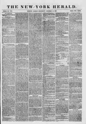THE NEW YORK HERALD. WHOLE NO. 7776. MORNING EDITION-WEDNESDAY, DECEMBER 16, 1857. PRICE TWO CENTS. THE FILIBUSTERS. ?m...
