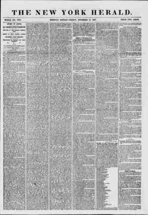 THE NEW YORK HERALD. WHOLE NO. 1778. MORNING EDITION-FRIDAY, DECEMBER 18, 1857. PRICE TWO CENTS. AFFAIRS OF KANSAS....
