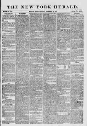 THE NEW YORK HERALD. ? ? ? = ? ? - ____ ? , ? ? ? WHOLE NO. 7781. MORNING EDITION-MONDAY, DECEMBER 21, 1857. PRICE TWO CENTS.
