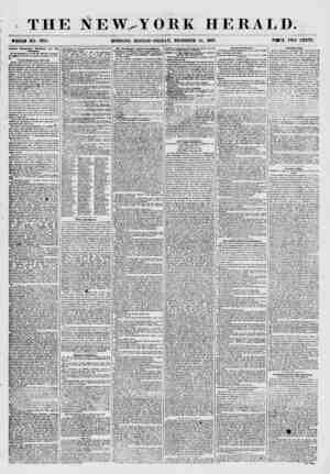 THE NEW^YORK WHOLE NO. 7785. MORNING EDITION-FRIDAY, DECEMBER HERALD. 25, 1851. PMCE TWO CENTS. Another Democratic Movement
