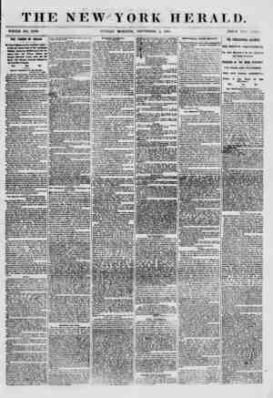 THE NEW YORK HERALD. WHOLE NO. 8760. SUNDAY MORNING, SEPTEMBER 2, 1860. PRICE TWO CENTS. THE FRMCE OF WALES. h K?yal...