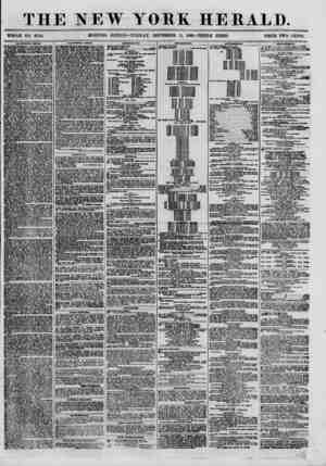 THE NEW YORK HERALD. WHOLE NO. 8769. MORNING EDITION-TUESDAY, SEPTEMBER 11, 1860.-TRIPLE SHEET. PRICE TWO CENTS. CALIFORNIA
