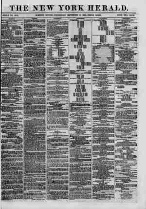 THE NEW YOKE HEBALD. WHOLE NO. 8770. MORNING EDITION-WEDNESDAY, SEPTEMBER 12, 1880.-TRIPLE SHEET. PRICE TWO CENTS. SHIPPING.