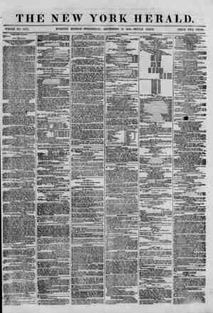 THE NEW YORK HERALD. WHOLE NO. 8777. MORNING EDITION-WEDNESDAY, SEPTEMBER 19, 1800.-TRIPLE SHEET. PRICE TWO CENTS. FOOD FOR