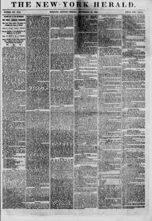 THE NEW YORK HERAI.I) r r ' ,f WHOLE NO. 8779. MORNING EDITION?FRIDAY, SEPTEMBER 21, 1860. PRICE TWO CENTS. OPENING DAY M THE