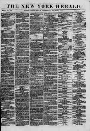 THE NEW YORK HERALD. WHOLE NO. 8783. MORNING EDITION?TUESDAY, SEPTEMBER 25, 1880.-TRIPLE SHEET. PRICE TWO CENTS armv...