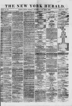 THE NEW YORK HERALD. WHOLE NO. 8785. MORNING EDITION-THURSDAY, SEPTEMBER 27, 1860.-TRIPLE SHEET. PRICE TWO CENTS. ?HIPPIKQ.