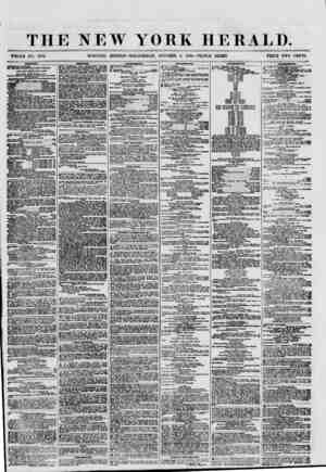 THE NEW YORK HERALD. WHOLE NO. 8791. MORNING EDITION-WEDNESDAY, OCTOBER 3, 1860.-TRIPLE SHEET. PRICE TWO CENTS. bhifpitco.