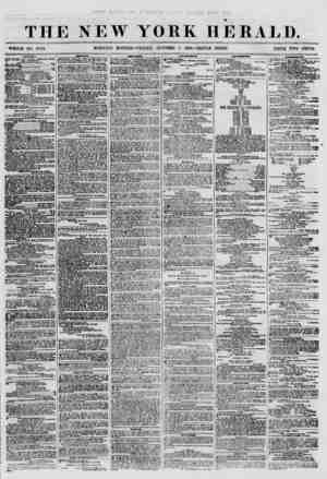 THE NEW YORK HERALD. WHOLE NO. 8793. MORNING EDITION-FRIDAY, OCTOBER 5, 18C0.-TRIPLE SHEET. PRICE TWO CENTS. iUii'iun U....