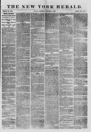 THE NEW YORK HERALD. WHOLE NO. 8795. SUNDAY MORNING, OCTOBER 7, 1860. PRICE TWO CENTS. ADfimOIAL FROI EUROPL ARRIVAL OF fHE