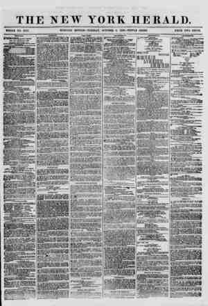 """THE NEW YORK HERALD. WHOLE NO. 8797. MORNING EDITION-TUESDAY, OCTOBER 9, 1860.-TRIPLE SHEET. PRICE TWO CENTS. """" """" SHIPPING."""