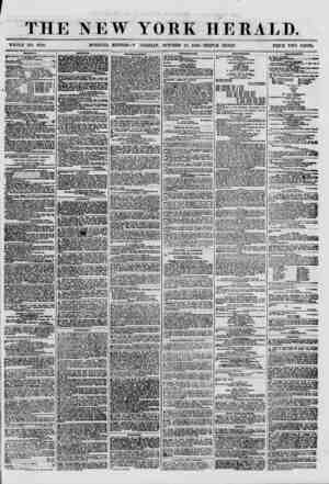 THE NEW YORK HERALD. WHOLE NO. 8798. MORNING EDITION?W DNESDAY. OCTOBER 10, 1860.-TRIPLE SHEET. PRICE TWO CENTS. SHIPPING.