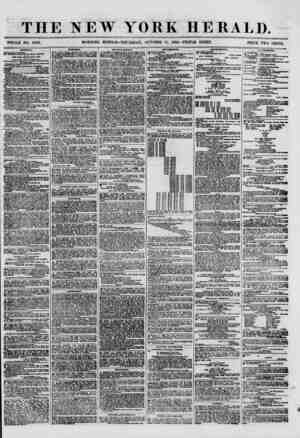 THE NEW YORK HERALD. WHOLE NO. 8799. MORNING EDITION ?THURSDAY, OCTOBER 11, 1860.-TRIPLE SHEET. PRICE TWO CENTS. R ?hippiwg.