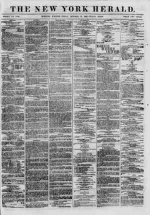 THE NEW YORK HERALD. WHOLE NO. 8*00. MORNING B DITTOS- FRIDAY, OCTOBER 12, 180O.-TRIPLE SHEET. PRICE TWO CENTS. ?HIPPJSG....