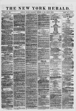 THE NEW YORK HERALD. WHOLE NO. 8800. MORNING EDITION- THURSDAY, OCTOBER 18, 1800.-TRIPLE SHEET. PRICE TWl'> CENTS. aHiJPPiwo.