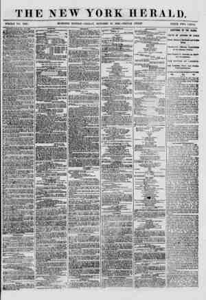 THE NEW WHOLE NO. 8807. MORNING EDITION YORK HERALD. FRIDAY, OCTOBER 19, 1860.-TRIPLE SHEET. TRICE TWO CENTS HOC HEN, ROOMS,