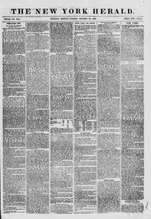 THE NEW WHOLE NO. 8814. MORNING YORK HERALD. EDITION-FRIDAY, OCTOBER 26, 1860. PRICE TWO CENTS. CRIMX IS HEW YORK. Camrt of