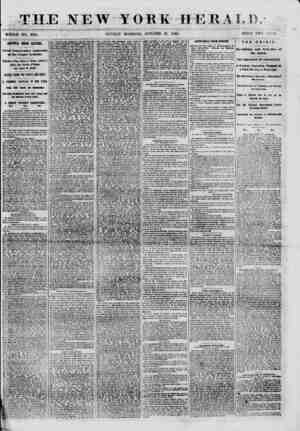 """THE NEW YORK HERALD. WHOLE NO. 8816. , SUNDAY MORNING, OCTOBER 28, 1860. PRICK TWO ( 'KN""""T<. AHOTTCft UHIOH BEETHG. Great..."""