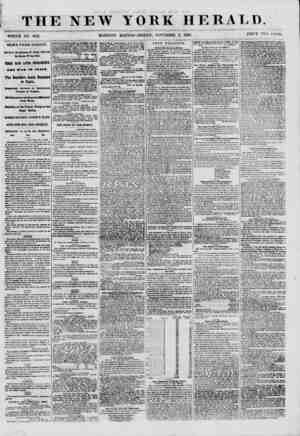 THE NEW-YORK HERALD WHOLE NO. 8821. MORNING EDITION- FRIDAY, NOVEMBER 2, 1860. PRICE TWO <T.>','TS. NEWS FROM EUROPE. Arrival