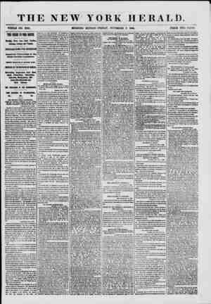THE NEW WHOLE NO. 8828. MORNING YORK HERALD. PRICE TWO CENTS. THE CRISIS IN TUB SOUTH. Exciting News from Sooth Carolina,...