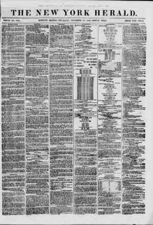 THE NEW YORK HERALD. WHOLE NO. 8841. MOWING EDITlON-TnUKStfAY, NOVEMBER 22, 1860. -TRIPLE SHEET . PRICE Tim CENTS....