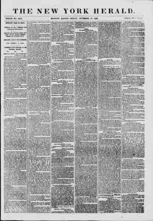 THE NEW YORK HERALD. ItreOLE NO. 8842. MORNING EDITION-FRIDAY, NOVEMBER 23, 1860. PRICE TWO CENTS. mpoarAur frojj rc<: soota.