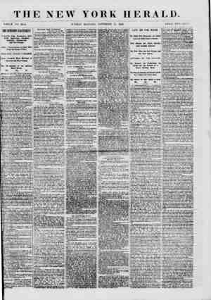 TIIE NEW YORK HERALD. WHOLE NO. Soil. SUNDAY MORNING, NOVEMBER 25, 1860. PRICE TWO CENT -i. Kvpairbct from v&a*liingi<u)....